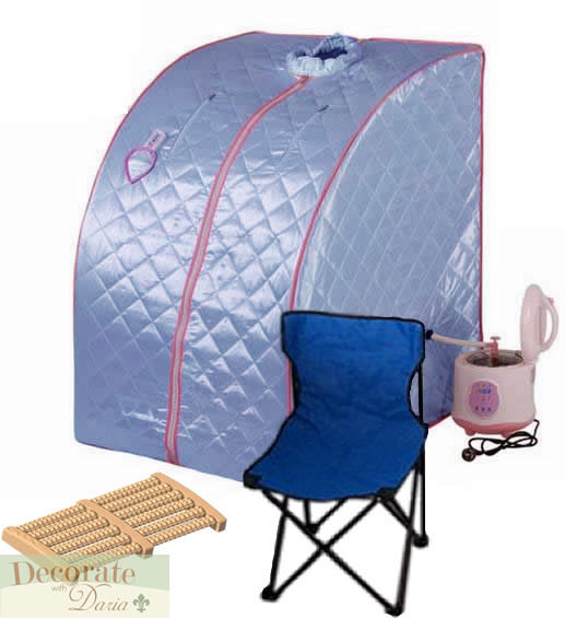 photo of portable steam saunas